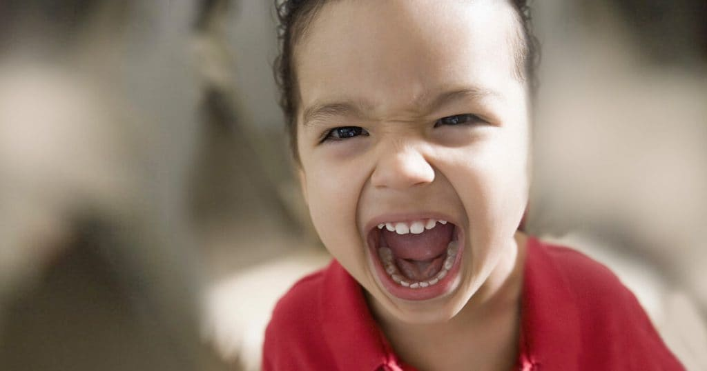 Dealing with a Screaming Toddler