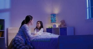 Tips for a stress-free night with your child
