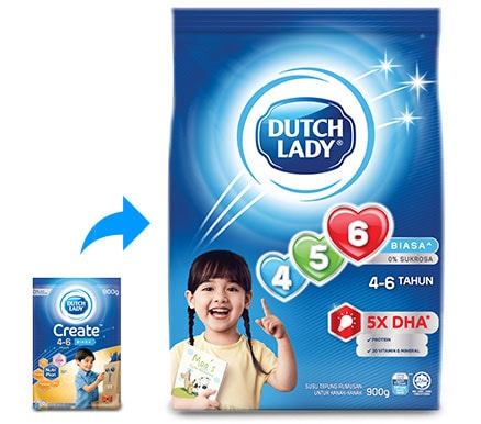 Dutch Lady 456 New Packaging