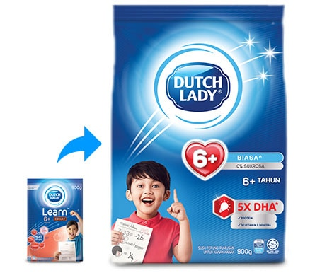 Dutch Lady 6+ New Packaging
