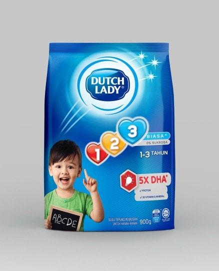 Dutch Lady 123 Plain