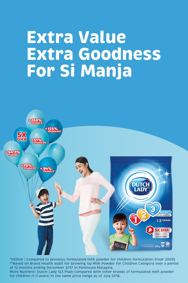 Extra Value Extra Goodness For Si Manja
